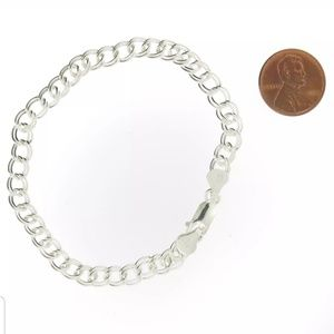 Jewelry - 1/2 OFF Sterling Silver Bracelet w/Charm Purchase
